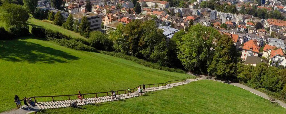 Sprinttraining Gesstreppe