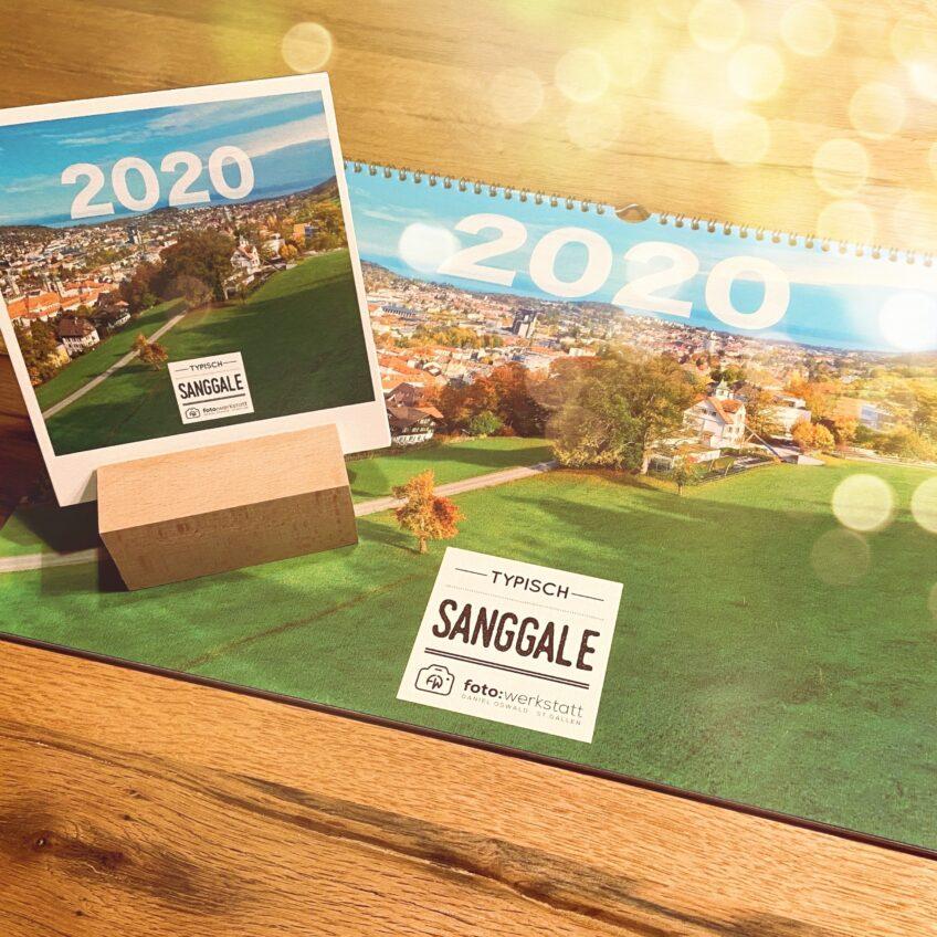 Bildkalender «typisch Sanggale»